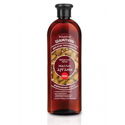 Шампунь для волос с маслом арганы