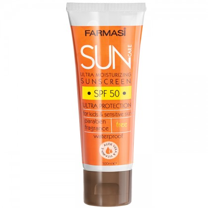 Солнцезащитный крем для  очень чувствительной кожи SPF 50