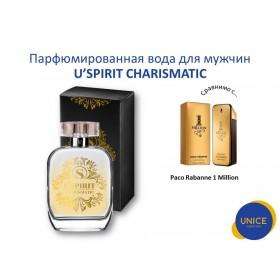 Мужская парфюмированная вода  U'SPIRIT Charismatic
