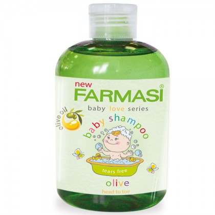 Детский шампунь «Оливка» Olive Oil Baby Shampoo