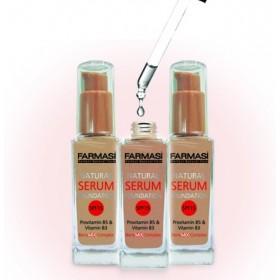 """Тональная основа """"Идеальная кожа"""" Farmasi Natural Serum Foundation"""