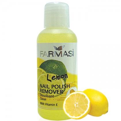Жидкость для снятия лака с витамином Е лимон Nail Polish Remover