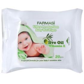Влажные салфетки с оливковым маслом 20 шт