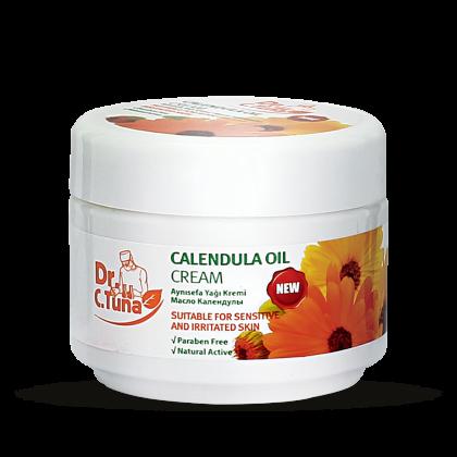 Крем для чувствительной и проблемной кожи с  маслом  календулы
