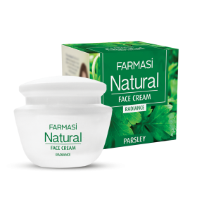 Крем для лица Natural  с экстрактом петрушки