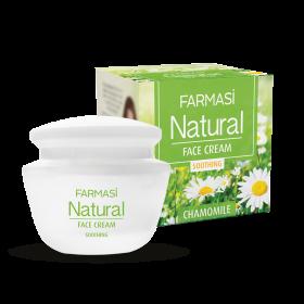 Крем для лица Natural  с экстрактом ромашки