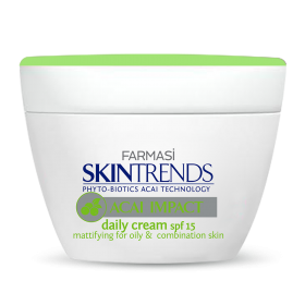 Матирующий дневной крем для жирной кожи лица