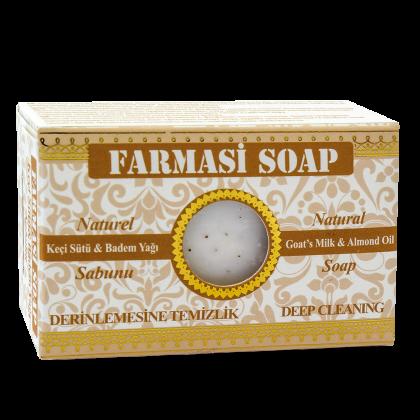 Натуральное миндальное мыло на основе козьего молока