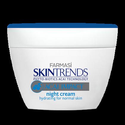 Ночной крем для нормальной кожи лица