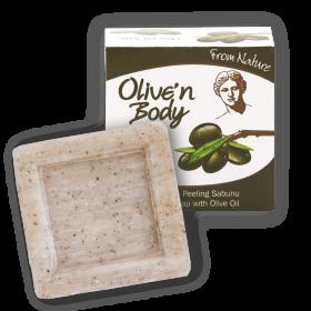Мыло-пилинг с оливой