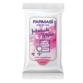 Влажные салфетки для интимной гигиены 20 шт