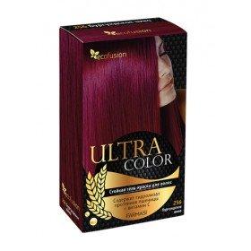 Cтойкая гель-краска для волос Ultra Color, 256 Бургундское вино