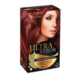 Cтойкая гель-краска для волос Ultra Color, 345 Гламурная вишня