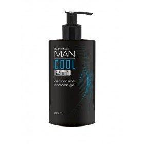 Гель для душа 2 в 1 Cool Man