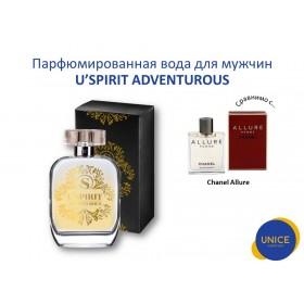 Мужская парфюмированная вода U'SPIRIT Adventurous