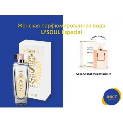 Женская парфюмированная вода U'SOUL Especial
