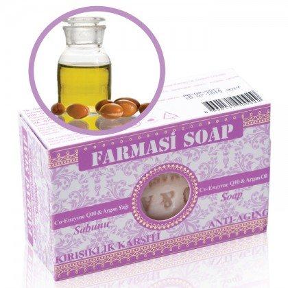 Натуральное аргановое мыло с коэнзимом Q10
