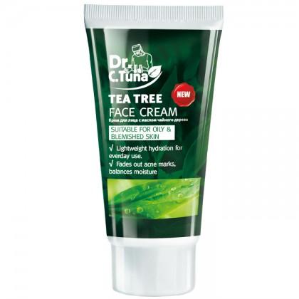 Крем для лица с маслом чайного дерева