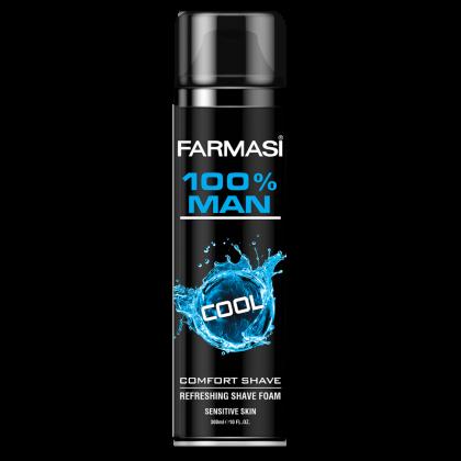 Пена для бритья 100% Man Cool