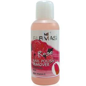Жидкость для снятия лака роза с витамином Е Nail Polish Remover