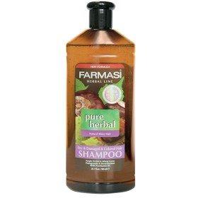 Травяной шампунь для сухих, окрашенных и поврежденных волос