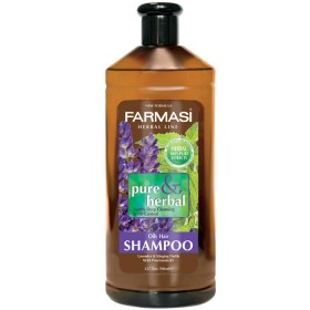 Травяной шампунь для жирных волос