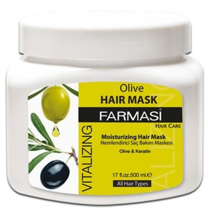 Восстанавливающая маска для волос с экстрактом оливы