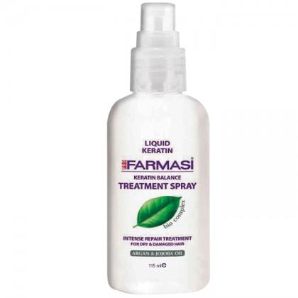 Восстанавливающий спрей для волос  с кератином