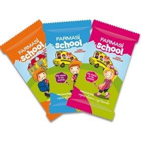 Влажные салфетки для школьников 12 шт.