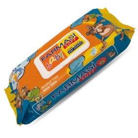 Влажные детские салфетки с кремом 70 шт.