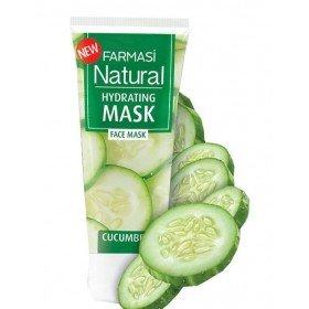 Натуральная увлажняющая маска с огурцом