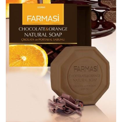 Натуральное мыло шоколад и апельсин