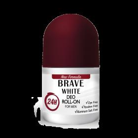 Шариковый дезодорант Brave white