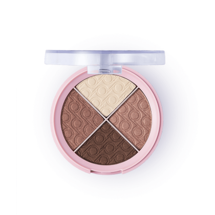 Четырехцветные тени PRETTY QUARTET EYE SHADOW